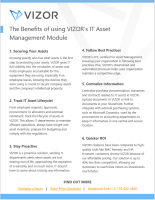 VIZOR – The Benefits of the Software Module