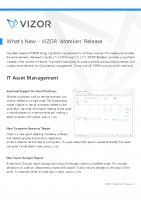 What's New – VIZOR 'Atateken' Release
