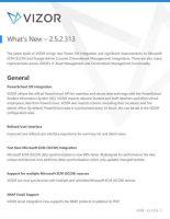 VIZOR – What's New – 2.5.2.313