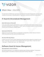 VIZOR – What's New – 2.5.2.315