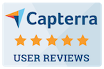 Capterra 5 star reviews